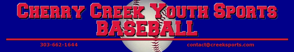 Cherry Creek Youth Sports Baseball, Baseball, Run, Field