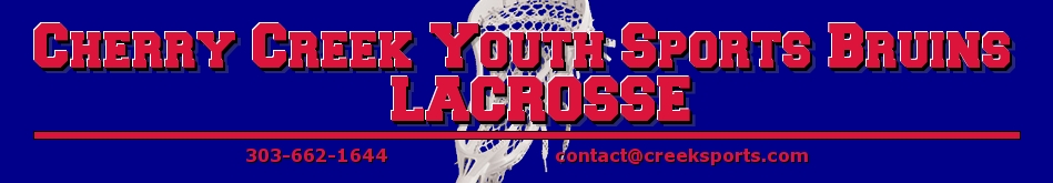 Cherry Creek Youth Sports Lacrosse, Lacrosse, Goal, Field