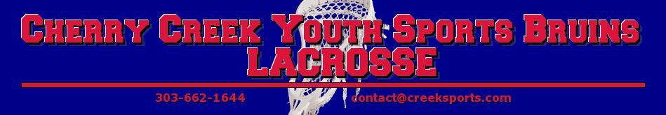 Cherry Creek Youth Sports Lacrosse, Lacrosse, Goal, Field
