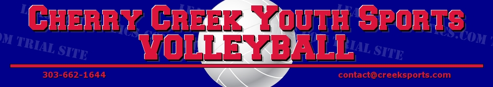 Cherry Creek Youth Sports Volleyball, Volleyball, Goal, Field