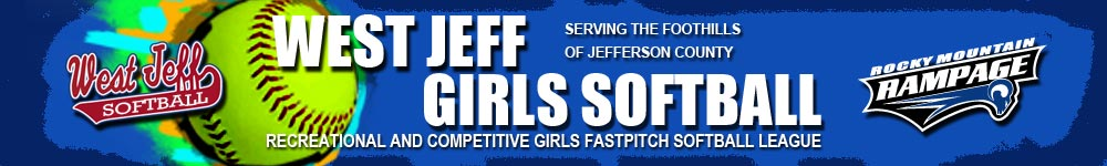 West Jeff Girls Softball Association, Softball, Run, Field