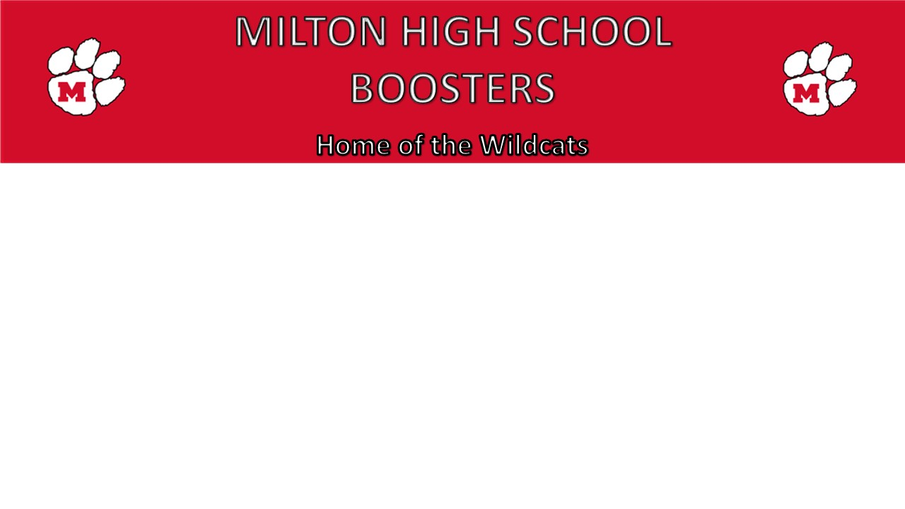 Milton High School Boosters