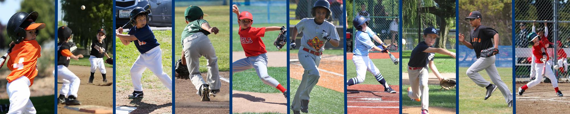 Foster City Little League, Baseball, Run, Field