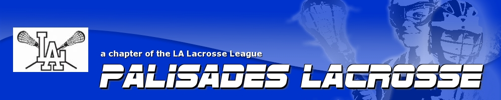 Palisades Lacrosse - a chapter of the LA Lacrosse League, Lacrosse, Goal, Field