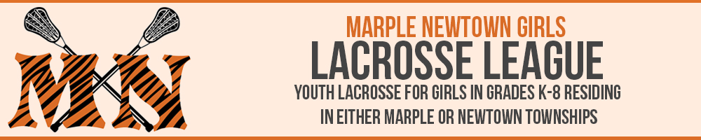Marple Newtown Girls Lacrosse League, Lacrosse, Goal, Field