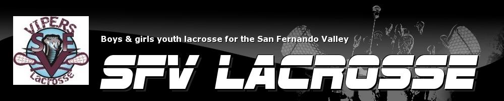 SFV Lacrosse, Lacrosse, Goal, Field