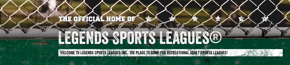 Legends Sports Leagues, main page, Goal, Field