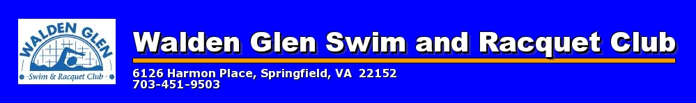 Walden Glen Swim and Racquet Club, Swim and Dive, Goal, Pool