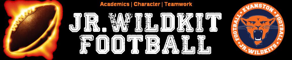 Evanston Jr. Wildkit Football & Cheerleading, Football, Academics Character Teamwork, Field