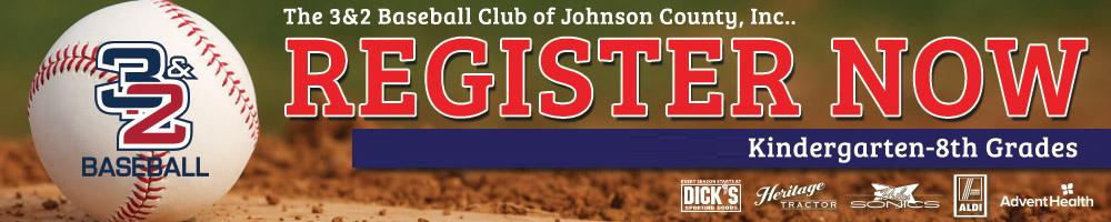 The 3&2 Baseball Club of Johnson County, Inc., Baseball, Run, Field