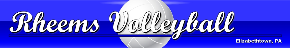 Rheems Athletic Association - Volleyball, Volleyball, Point, Field