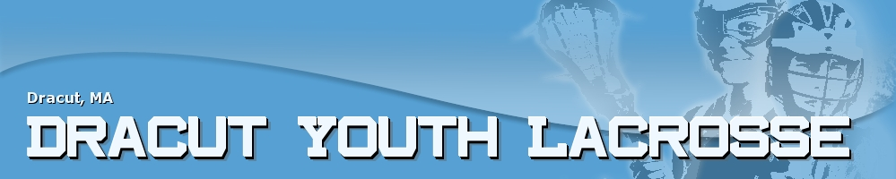Dracut Youth Lacrosse, Lacrosse, Goal, Field