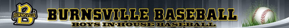 Burnsville In-House Baseball, Baseball, Run, Field
