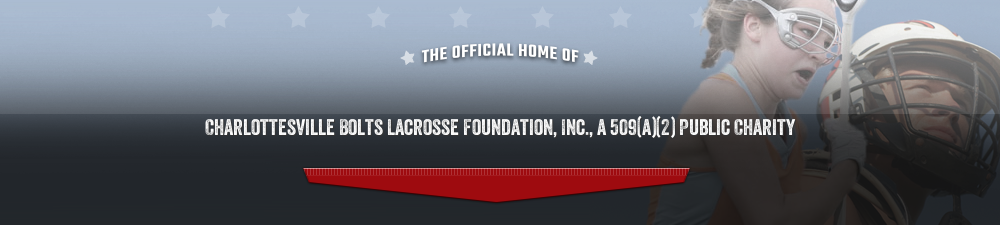 Charlottesville Bolts Lacrosse Foundation, Lacrosse, Goal, Field