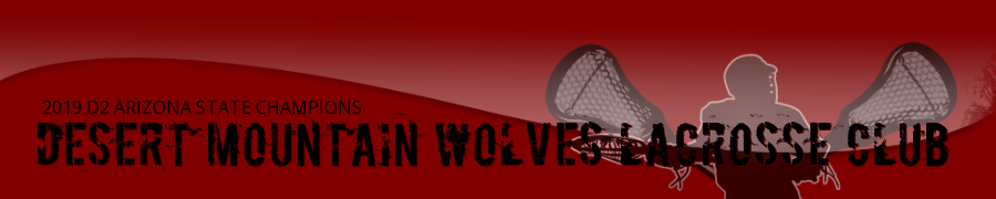 Desert Mountain Wolves Lacrosse, Boys, Lacrosse, Goal, Field