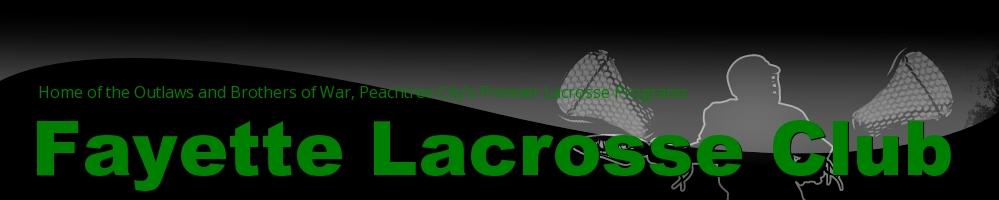Fayette County Lacrosse Club, Lacrosse, Goal, Field