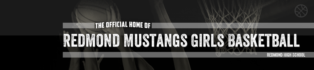 Redmond Lady Stangs, Basketball, Basket, Court