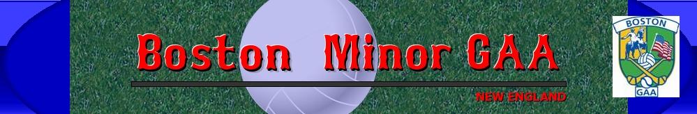 Boston Minor GAA , GAA, Goal, Field