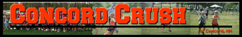 Concord Crush, Lacrosse, Goal, Field