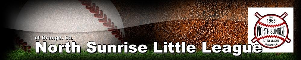 North Sunrise Little League, Baseball, Run, Field