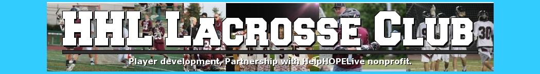 Help Hope Live LC, Lacrosse, Goal, Field