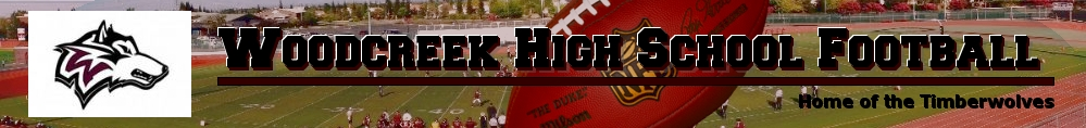 Back The Pack - Home of Woodcreek Football, Football, Goal, Field