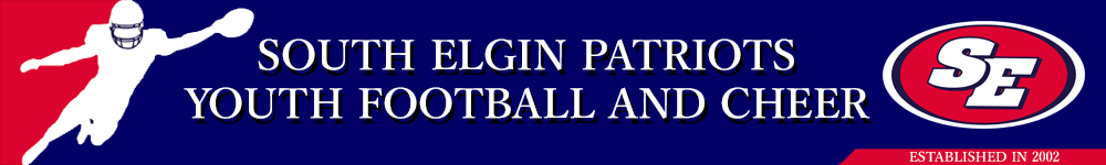 South Elgin Patriots, Football/Cheerleading, Touchdown, Field