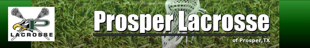 Prosper Lacrosse, Lacrosse, Goal, Field