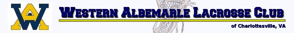 Western Albemarle Lacrosse Club, Lacrosse, Goal, Field