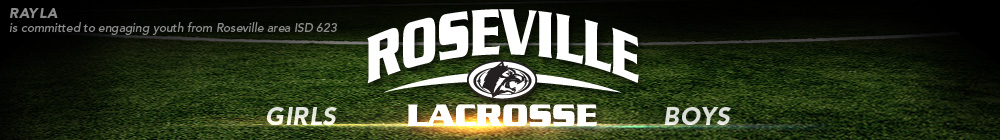 Roseville Area Youth Lacrosse Association, Lacrosse, Goal, Field