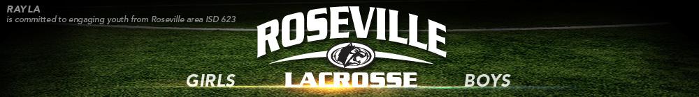 Roseville Area Youth Lacrosse Association, Lacrosse, Goal, Field