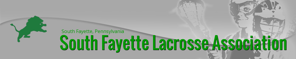 South Fayette Lacrosse Association, Lacrosse, Goal, Field