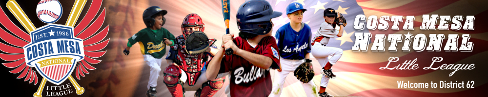 Costa Mesa National Little League, Baseball, Run, Field