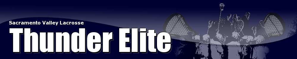 Thunder Elite Lacrosse, Lacrosse, Goal, Field