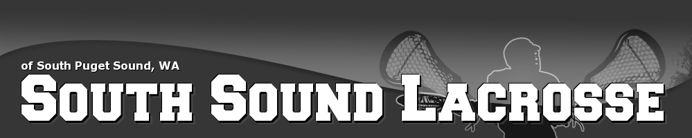 South Sound Lacrosse, Lacrosse, Goal, Field