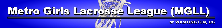 Metro Girls Lacrosse League, Lacrosse, Goal, Field