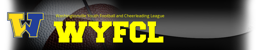 Washingtonville Youth Football and Cheerleading League, Football, Touch Down, Field