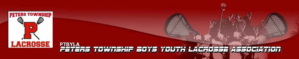 Peters Township Boys Youth Lacrosse Association, Lacrosse, Goal, Field
