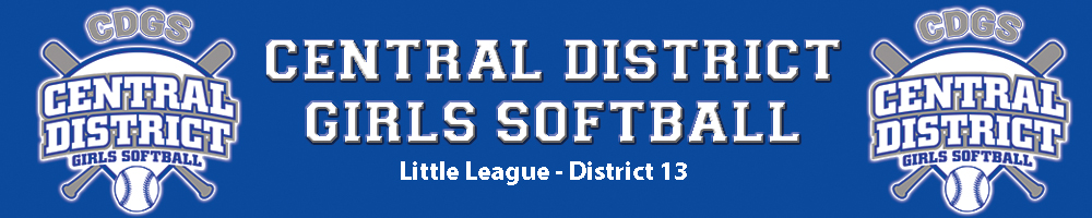 Central District Girls Softball, Softball, Run, Field