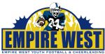 Empire West Youth Football & Cheerleading, Football
