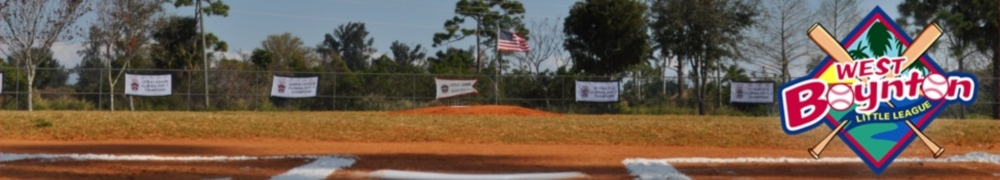 West Boynton Little League, Baseball, Run, Field