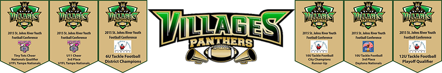 Villages Football Association, Tackle Football, Cheerleading, Flag Football, ,