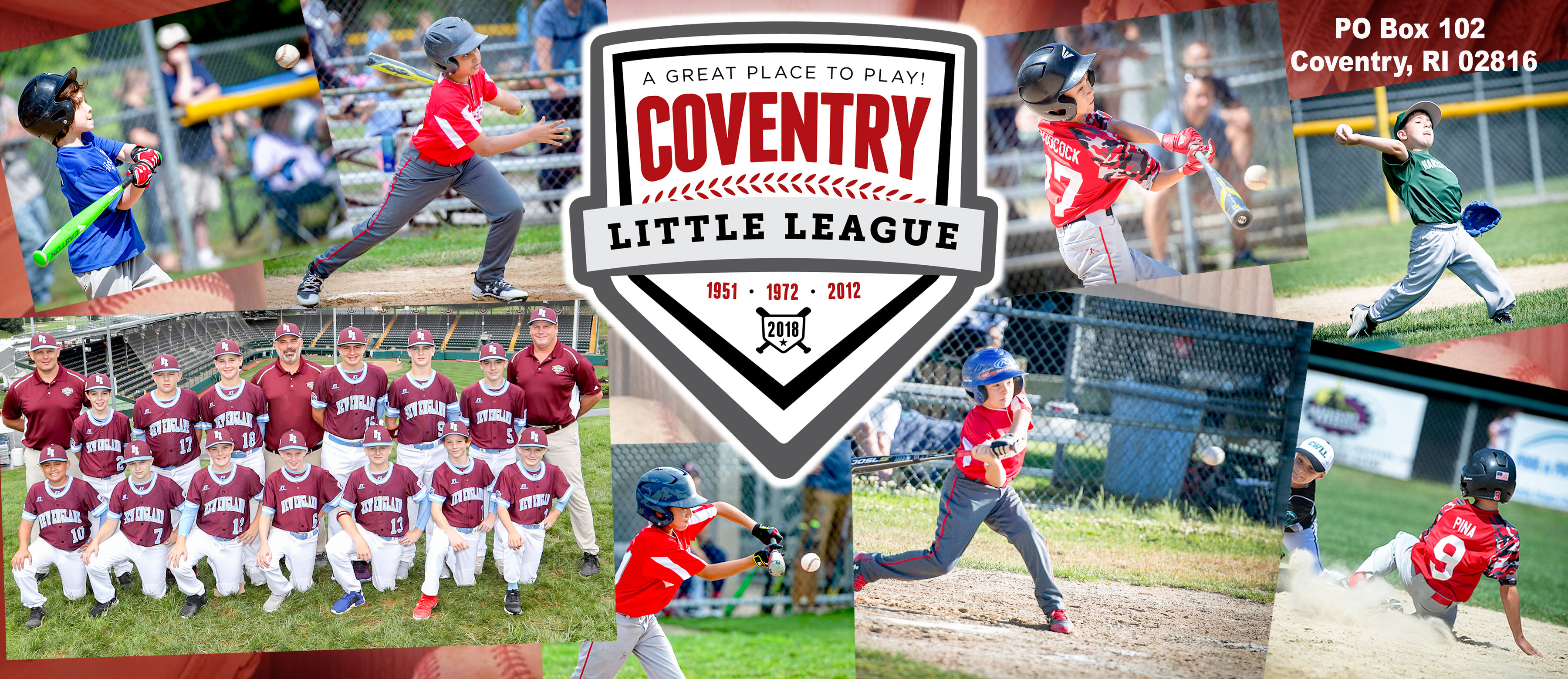 Coventry Little League, Baseball, Run, Field