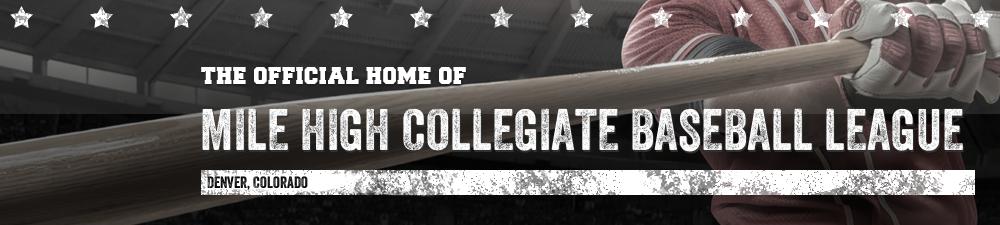 Mile High Collegiate Baseball League, Baseball, ,