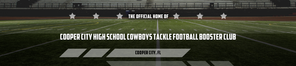 Cooper City High School Tackle Football Booster Club, Football Cheer, Goal, Field