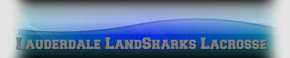 Lauderdale LandSharks Lacrosse, Lacrosse, Goal, Field