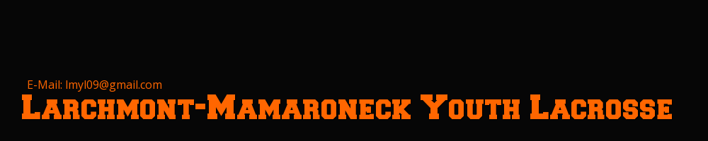 Larchmont Mamaroneck Youth Lacrosse, Lacrosse, Goal, Field