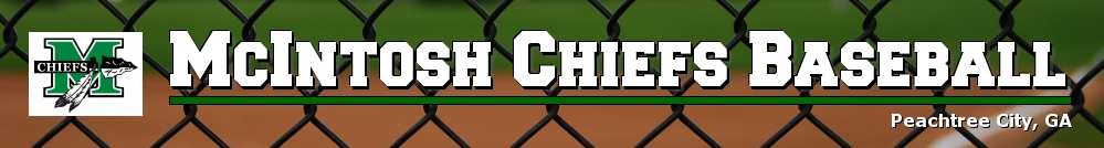 McIntosh Chiefs Baseball, Baseball, Run, Field