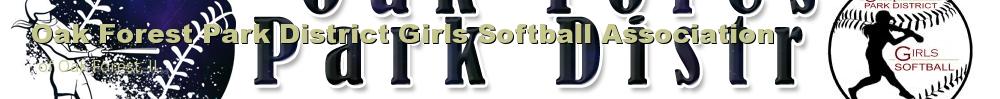 Oak Forest Park District Girls Softball Association, Softball, Run, Field