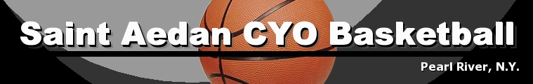 Saint Aedan CYO Basketball, Basketball, Point, Court
